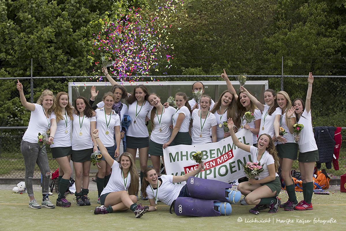 MHC Bemmel MB3 Kampioen