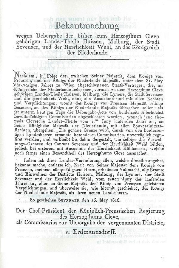 Bekantmachung 1816-2