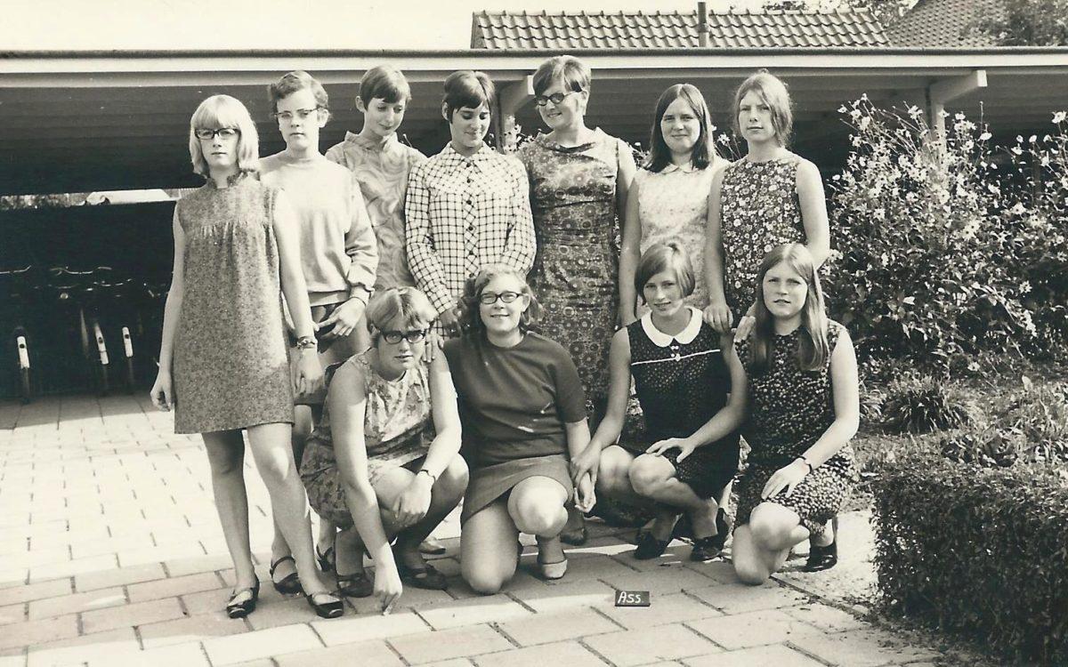 Huishoudschool 1967-1968 - Assistentes