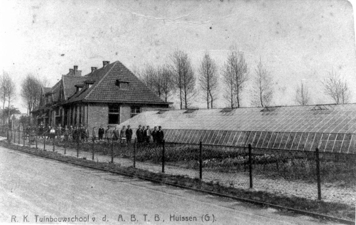 Tuinbouwschool ansicht